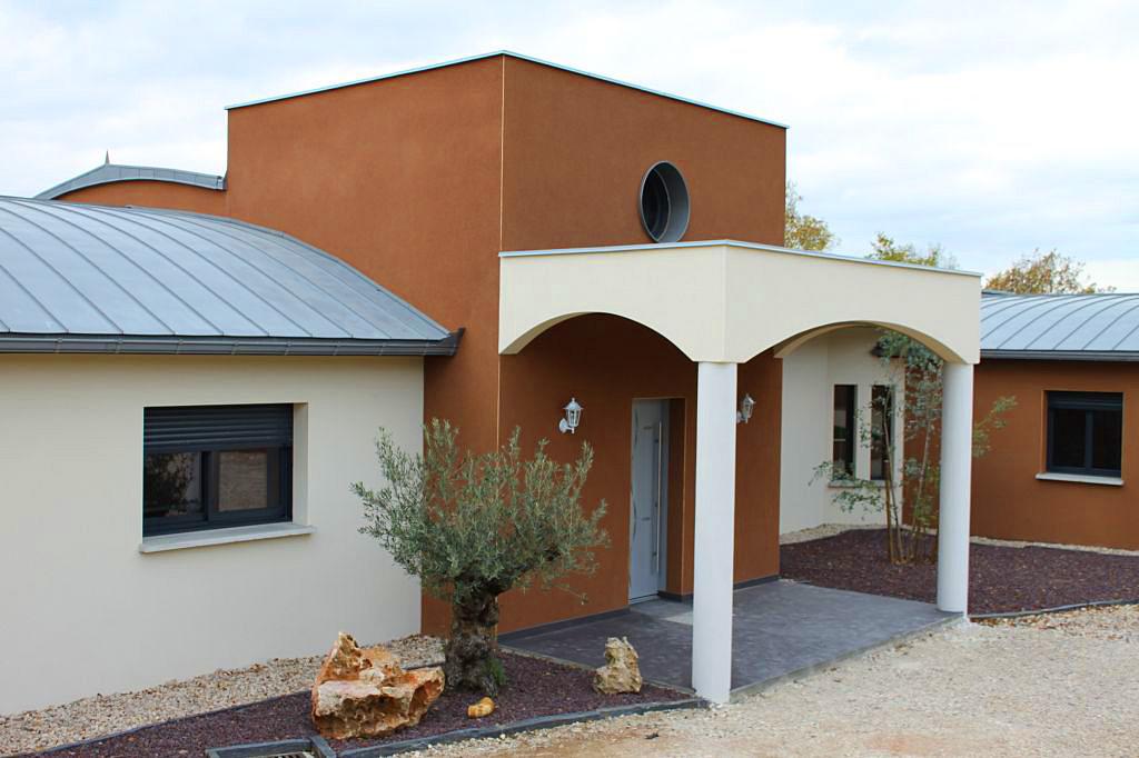 Constructeur de maison contemporaine en aveyron for Constructeur maison contemporaine 08