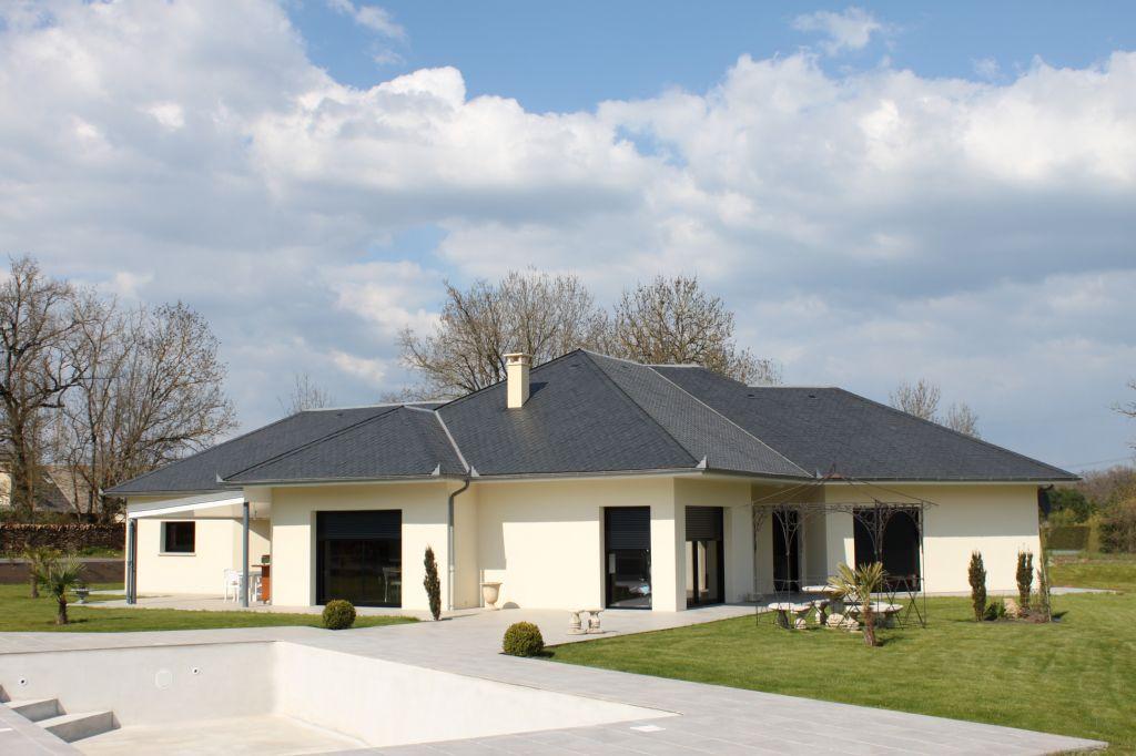 Maison 09 carriere constructions for Maison moderne rodez