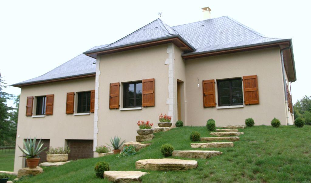 Maison 15 carriere constructions for Maison moderne rodez