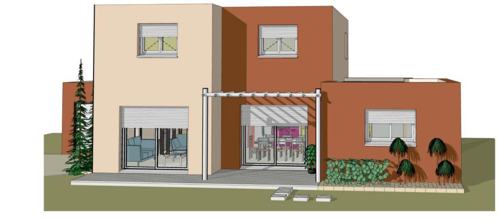 Projet 02 carriere constructions for Maison moderne rodez