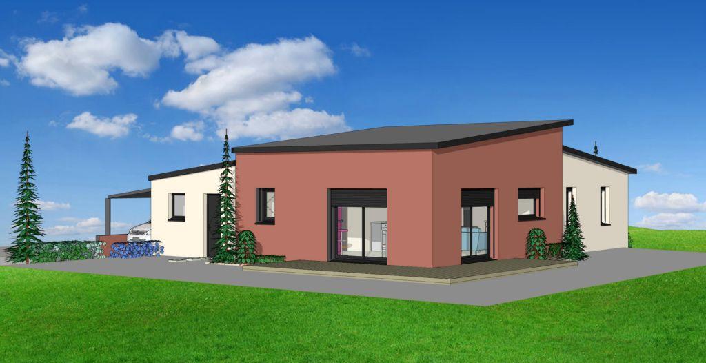 Projet 07 carriere constructions for Maison moderne rodez