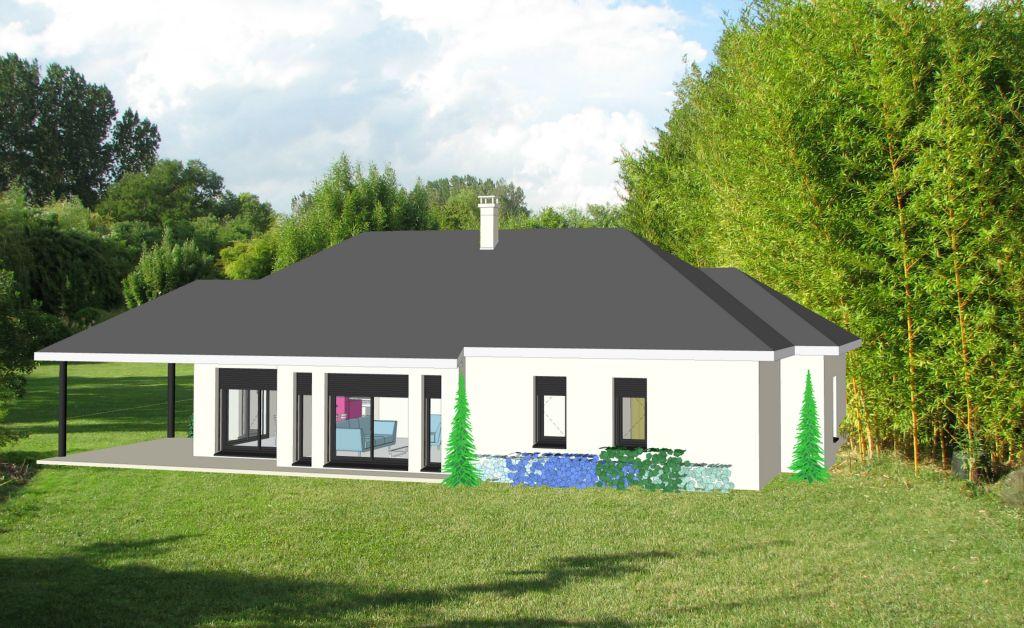 Projet 10 carriere constructions for Maison moderne rodez