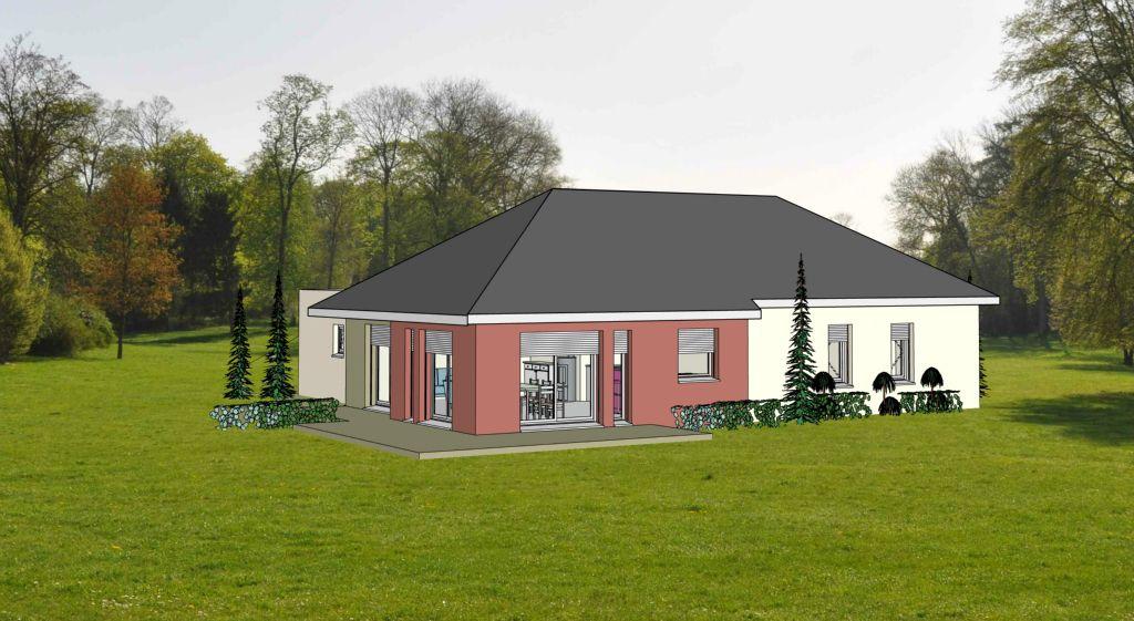 Projet 13 carriere constructions for Maison moderne rodez