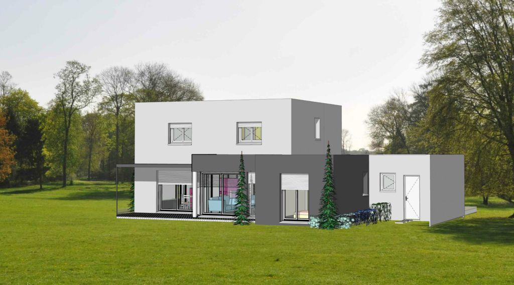 Projet 14 carriere constructions for Maison moderne rodez