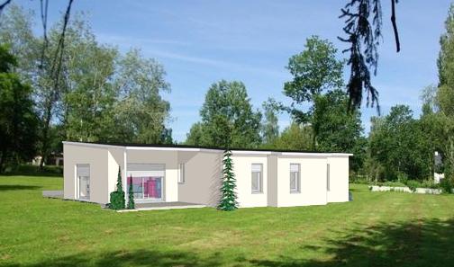 Projet 18 carriere constructions for Maison moderne rodez